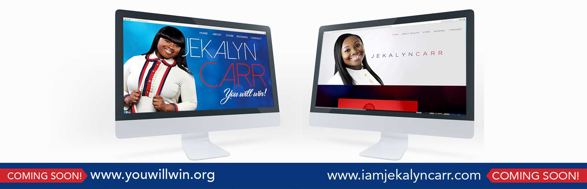 Jekalyn Carr's new websites are coming soon!
