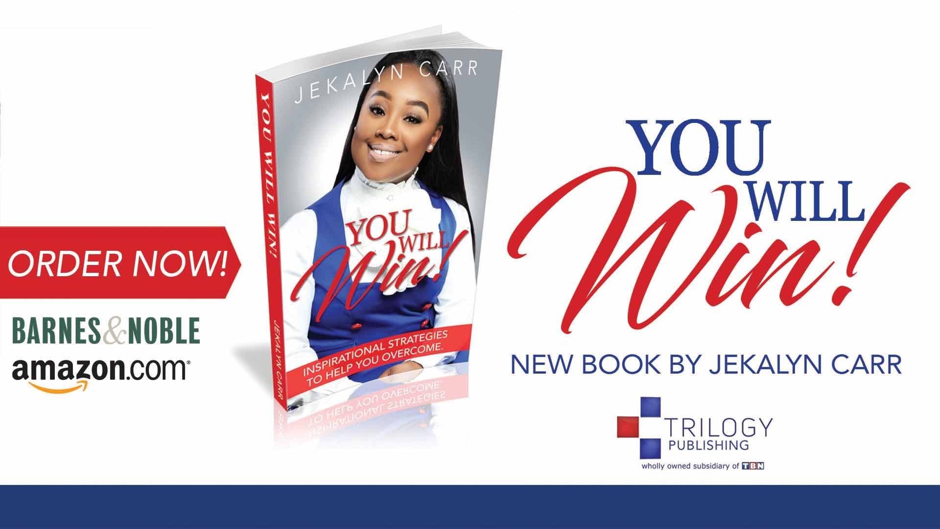 Jekalyn Carr You Will Win Book